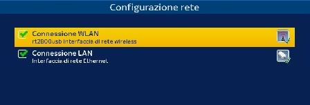 configurazione WLAN zgemma  wi-fi